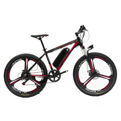 Bicicleta eléctrica terra roja aro 26