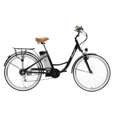 Bicicleta eléctrica city breeze aro 26 negro