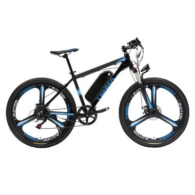 Bicicleta eléctrica terra azul aro 26