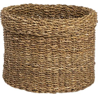 Canasto cilindro sea grass asas 43x30 cm