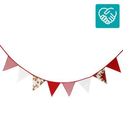 Banderines navidad 227 cm 8 unidades