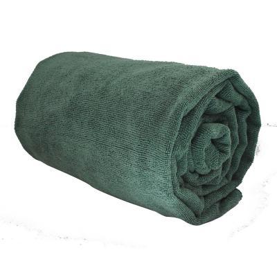 Toalla deportiva XL verde