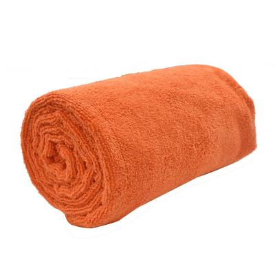 Toalla deportiva XL naranja
