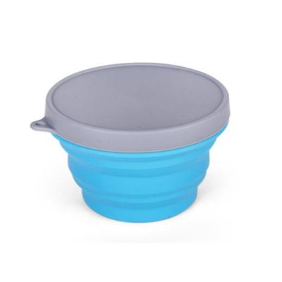Bowl plegable 300 ml azul