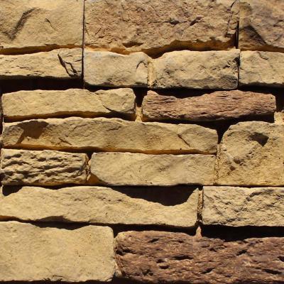Piedra Reconstituida Andes Ocre 0,3 m2