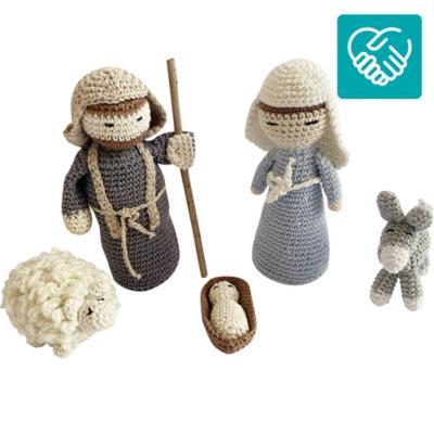 Pesebre crochet 5 figuras