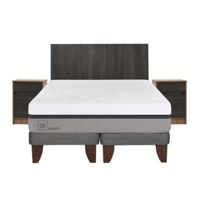 Cama europea balance king + muebles