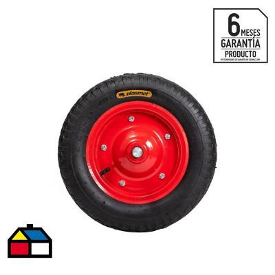 """Pack 6 ruedas neumáticas (pantanera) para carretilla 3.50-8"""""""