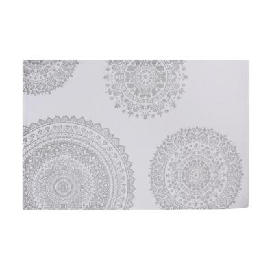 Set 6 Individuales Mandala Gris