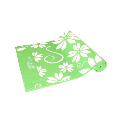 Mat de Yoga 6mm Eco Print Blanco
