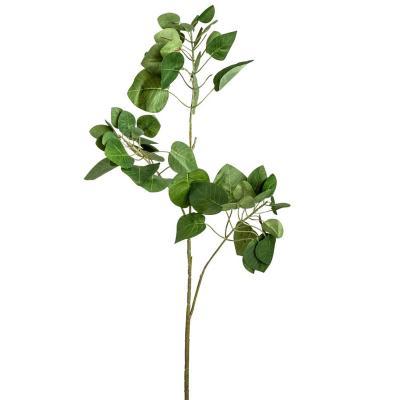 Vara artificial hojas de manzano verde de 87 cm