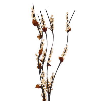 Set 5 varas artificiales  flor pelotitas  150 cm