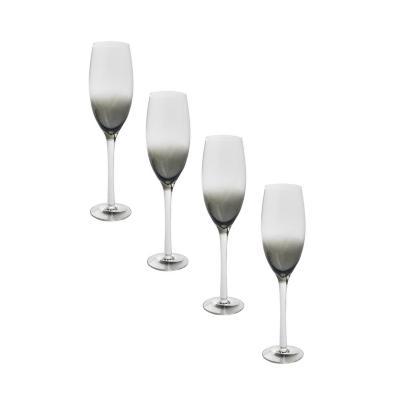 Set copas de vidrio 260 ml transparente 4 unidades