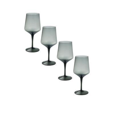 Set copas de vidrio 540 ml transparente 4 unidades