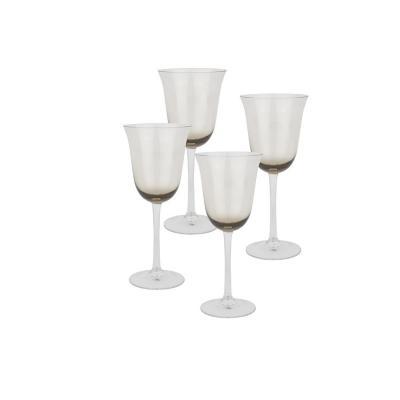Set copas de vidrio 440 ml transparente 4 unidades