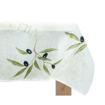 Mantel antimanchas Olivo 160X220 cm