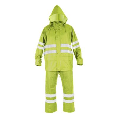Traje Impermeable Traffic T-18 Amarillo talla L