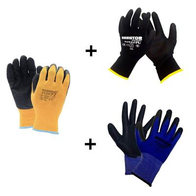 Pack- Guantes Flex Multiproposito