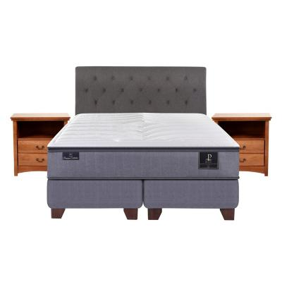 Box spring premium king fn + muebles