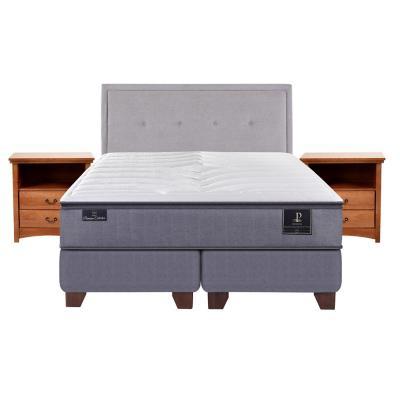 Box spring premium king fn + muebles
