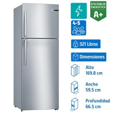 Refrigerador no frost top 321 litros
