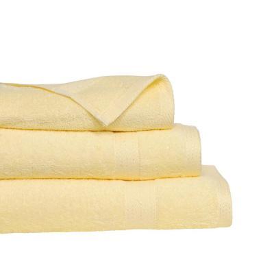 Set de 3 toallas mano + baño + visita beige