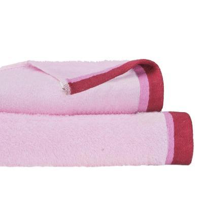 Set de 2 toallas cuerpo + mano rosado