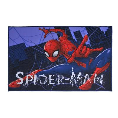 Bajada de cama spiderman wall 56x90 cm