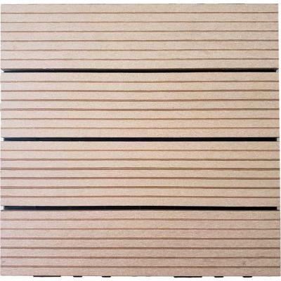 Deck modularalmendra 30x30 cm