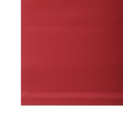 Cortina Enrollable Blackout 90x170 cm Rojo
