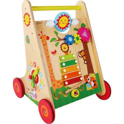 Caminador de madera happy learning