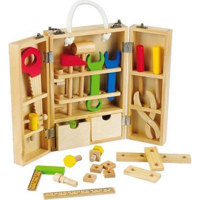 Set carpintero de madera didactic