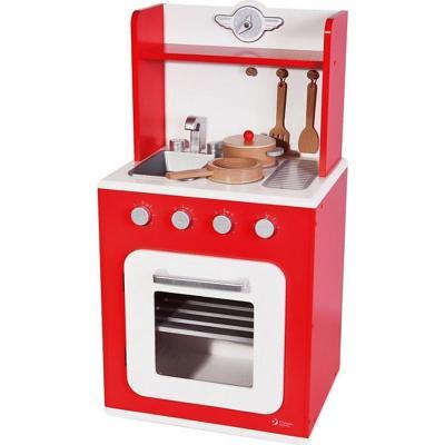 Cocina de madera red classic