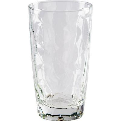 Set vaso de vidrio 435 cc 6 unidades