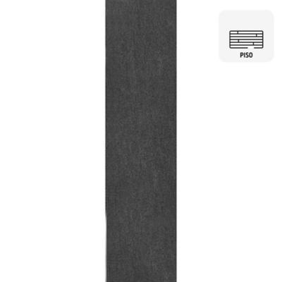 Porcelanato basaltina nera lapato 15x60 cm 1,08 m2