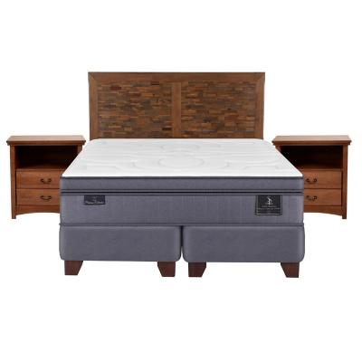 Box spring super premium king fn + muebles