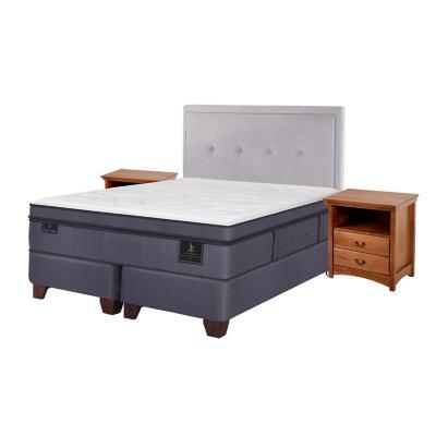 Box spring super premium 2 plazas bd fn + muebles