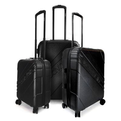 Set maletas cheer negro L+M+S abs rígido