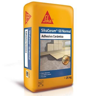 Adhesivo normal sikaceram-50 saco 25 kilos