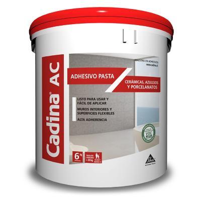 Adhesivo cerámico en pasta ac 6 kilos