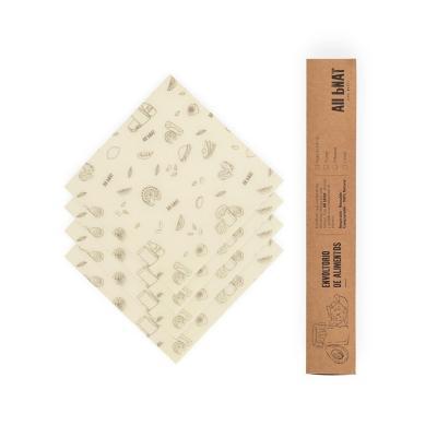 Envoltorio Alimentos Reutilizable 18x18 cm 4 un