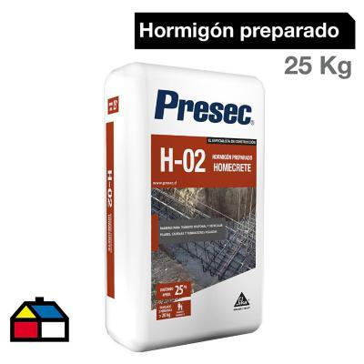Hormigón preparado H-02 Homecrete 25 kg