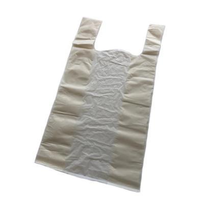 Bolsa basura compostable camiseta 38x45 cm 50 un