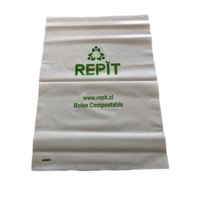 Bolsa basura compostable 50x70 cm 50 unidades