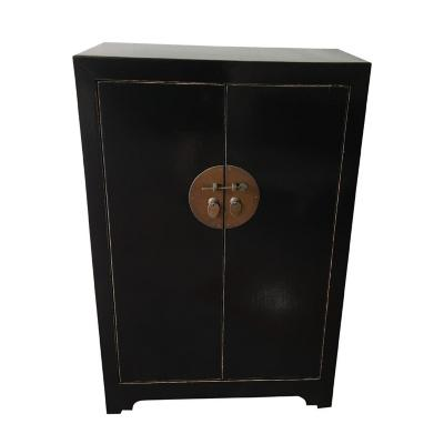 Mueble Alacena China 79x40x120 cm negro