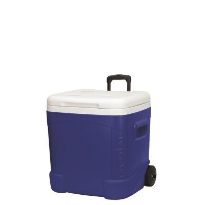 CooIer Nevera con ruedas 56 litros azul