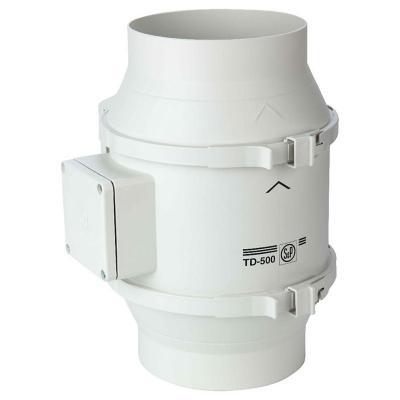 Extractor de aire tubular 500/150