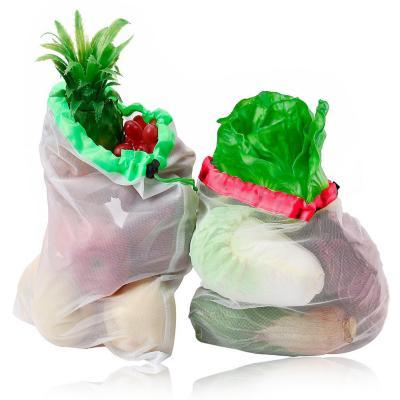 Pack 2 Set de 6 Bolsas Malla Reutilizables