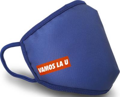 Mascarilla reutilizable doble capa Universidad de Chile