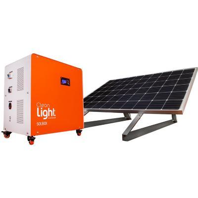 Generador solar móvil 1500 W 100 Ah